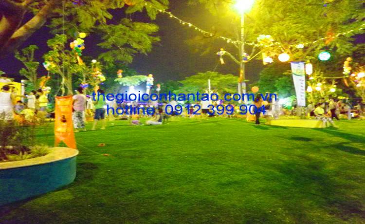 Dự án sân cỏ nhân tạo tại Công viên Nghĩa Đô 3