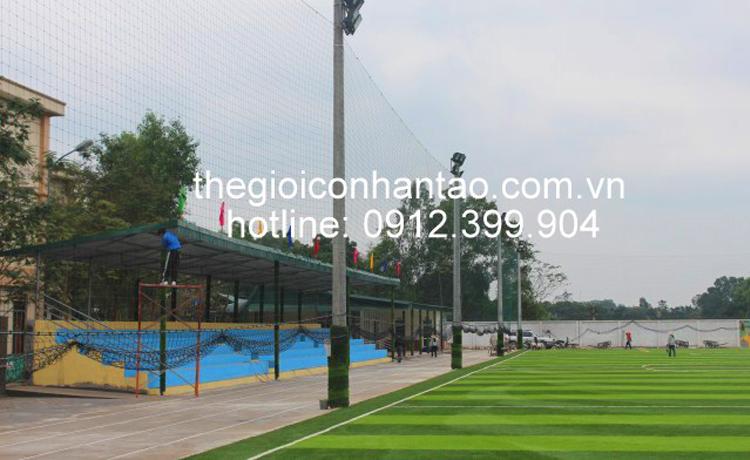 Dưới đây là một số hình cảnh trải cỏ trên bề mặt sân: 4