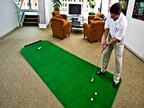 các mẫu sân golf cỏ nhân tạo tạo