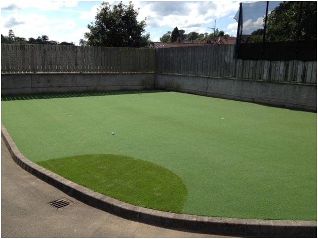 Cỏ nhân tạo sân Golf 1