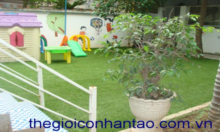 Cỏ nhân tạo sân vườn mang thiên nhiên đến với ngôi nhà bạn 10