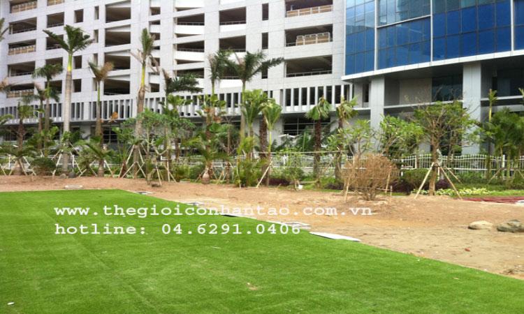 Cỏ nhân tạo sân vườn mang thiên nhiên đến với ngôi nhà bạn 3