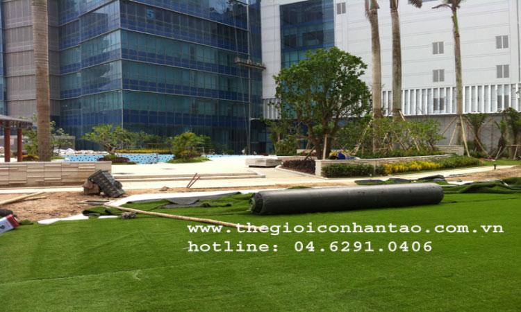 Cỏ nhân tạo sân vườn mang thiên nhiên đến với ngôi nhà bạn 1