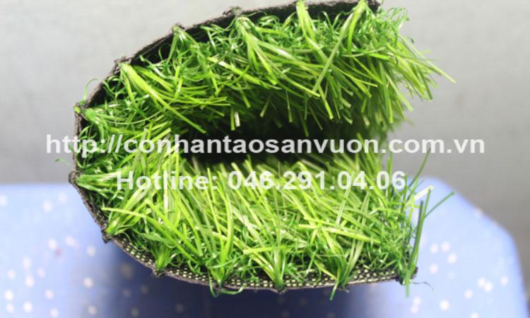 Mô tả hình ảnh cỏ nhân tạo sân vườnDVN - S21 3