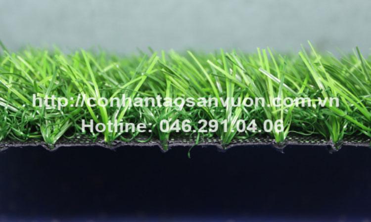 Mô tả hình ảnh cỏ nhân tạo sân vườnDVN - S21 4
