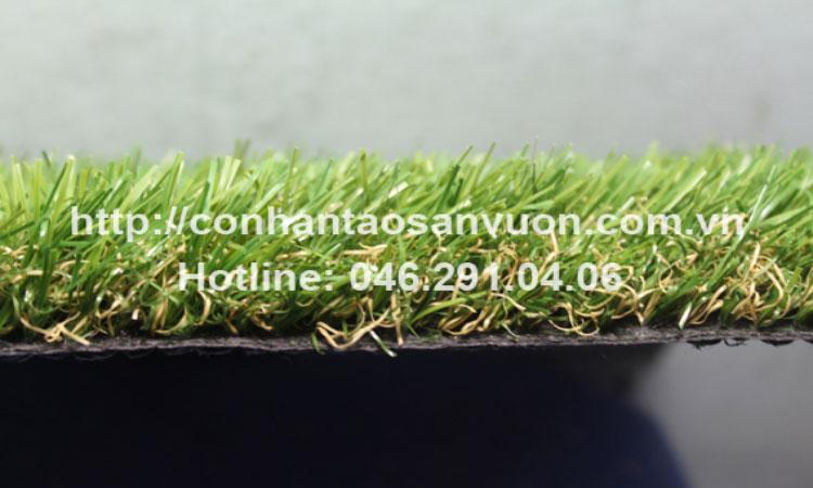 Chi tiết sản phẩm cỏ nhân tạo sân vườn DVN - S24 4