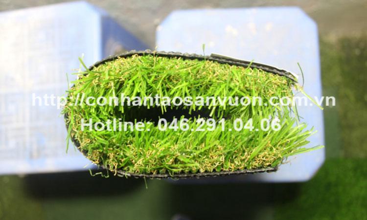 Chi tiết sản phẩm cỏ nhân tạo sân vườnDVN - S35 3