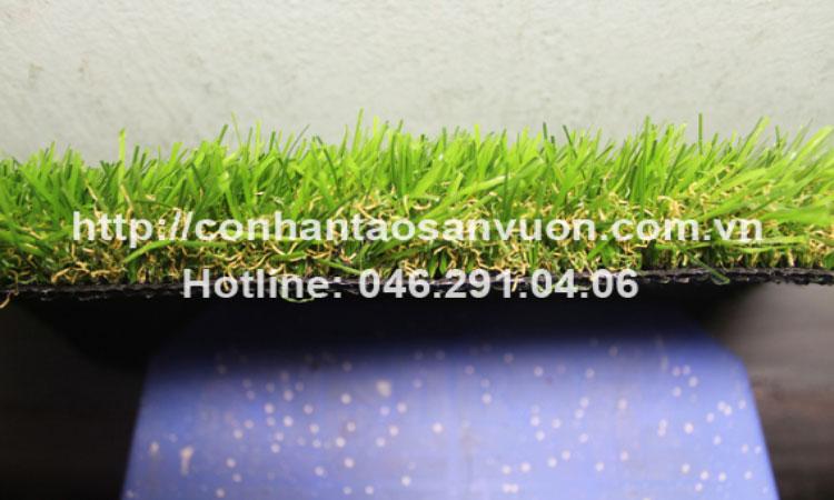 Chi tiết sản phẩm cỏ nhân tạo sân vườnDVN - S35 4