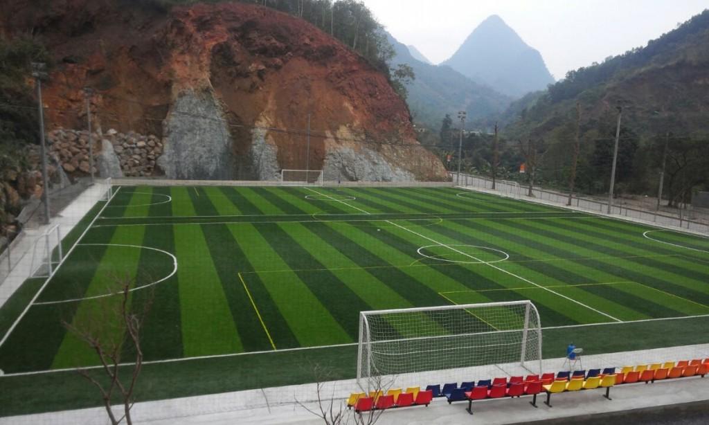 Dự án thi công sân bóng tại TP Hà Giang