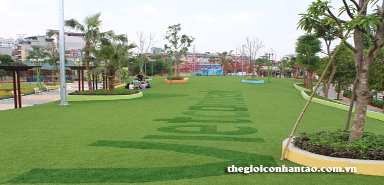 Công viên Dịch Vọng đón chào diện mạo mới 2