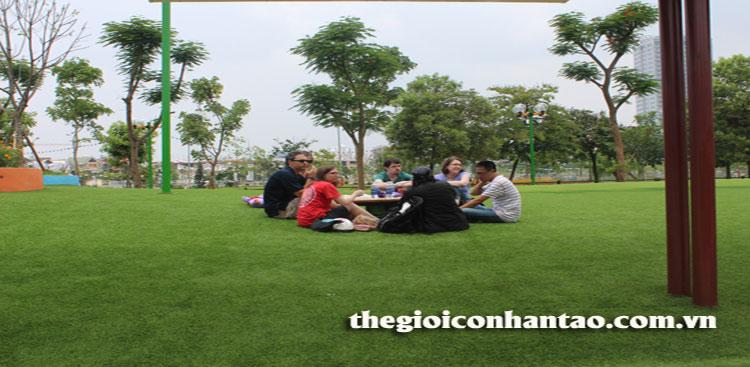 Công viên Dịch Vọng đón chào diện mạo mới 3