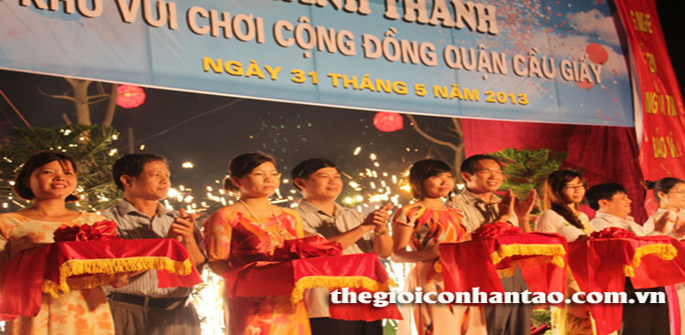 Công viên Dịch Vọng đón chào diện mạo mới 1