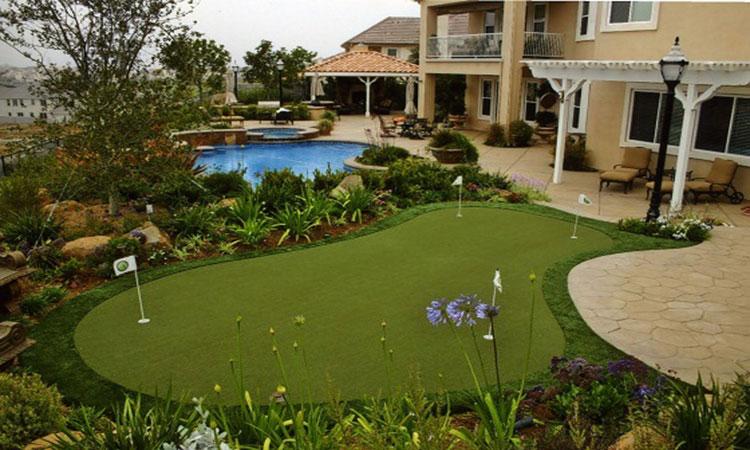 Xu hướng xây dựng sân golf mini trong nhà hàng 2