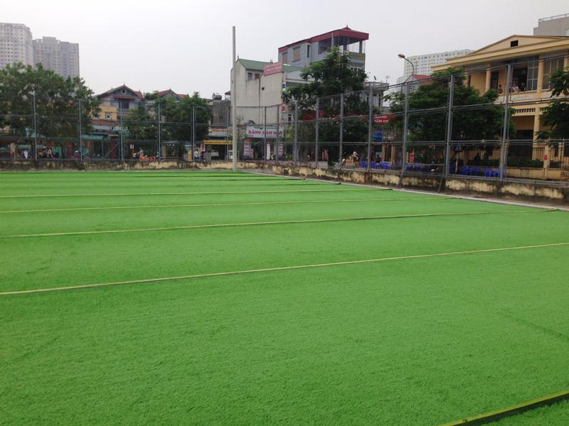 Sân bóng đá học viện an ninh