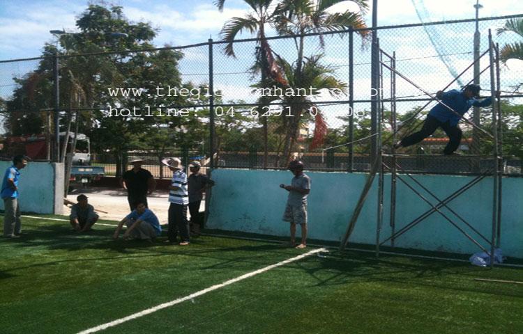 Dự án sân bóng tại Đại học Hàng Hải, TP. Hải Phòng 2