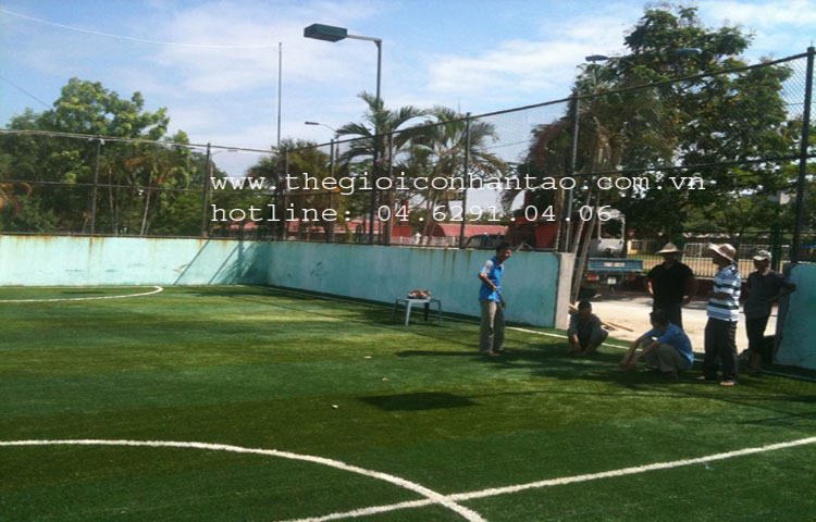 Dự án sân bóng tại Đại học Hàng Hải, TP. Hải Phòng 3
