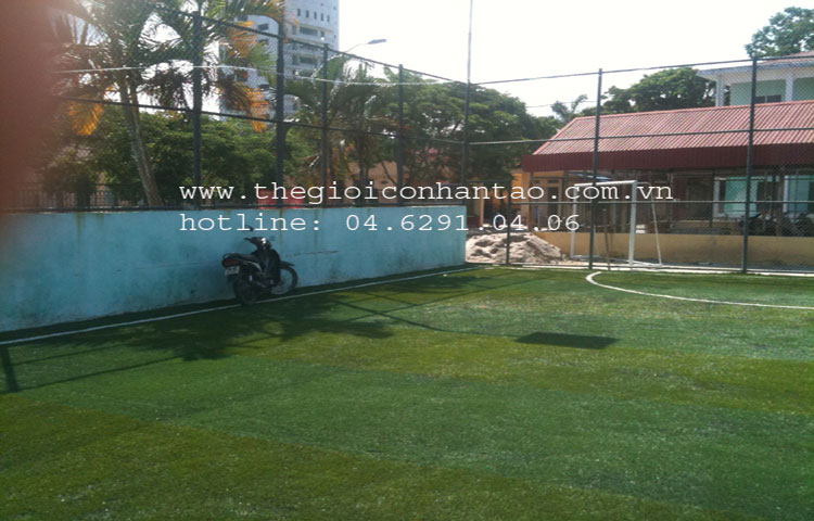 Dự án sân bóng tại Đại học Hàng Hải, TP. Hải Phòng 4