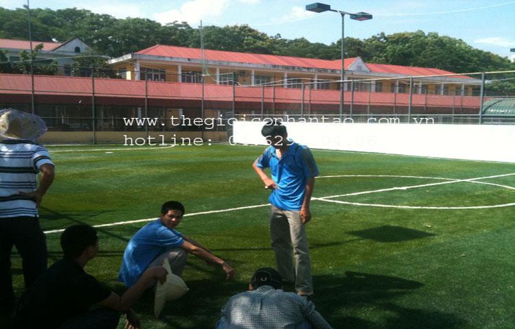Dự án sân bóng tại Đại học Hàng Hải, TP. Hải Phòng 5