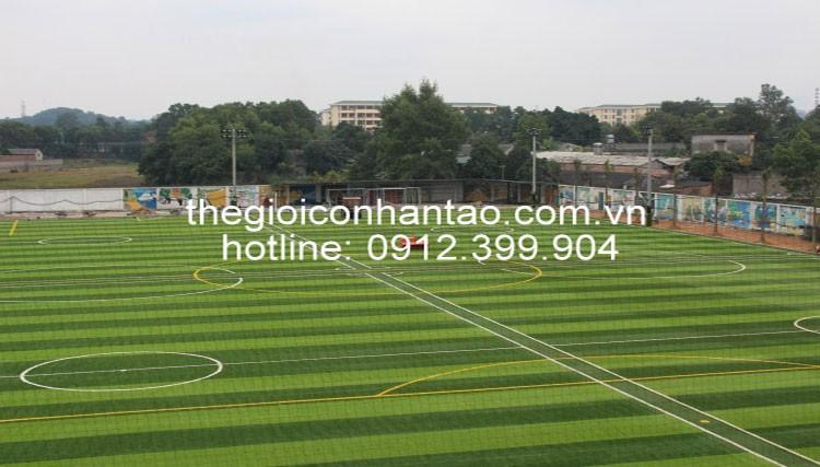 Sân cỏ nhân tạo thái nguyên