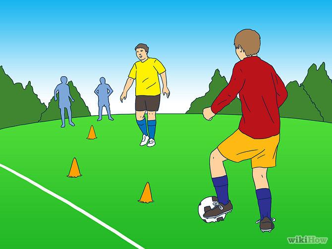3.Hãy tập luyện thường xuyên cùng một nhóm hoặc đội bóng 1
