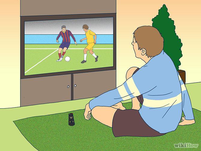 4.Hãy tìm hiểu, xem nhiều các cầu thủ giỏi đá trên TV, DVD…. 1