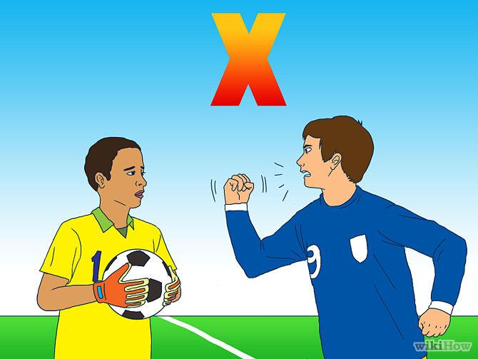 10.Không được tho lỗ với người chơi khác, huẩn luyện viên và trọng tài 1