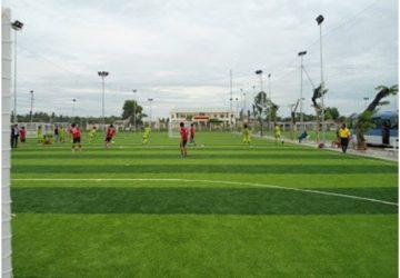 Diện tích sân bóng đá cỏ nhân tạo ở Việt Nam