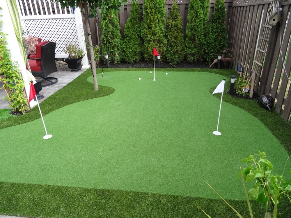 Thiết kế sân golf tại nhà