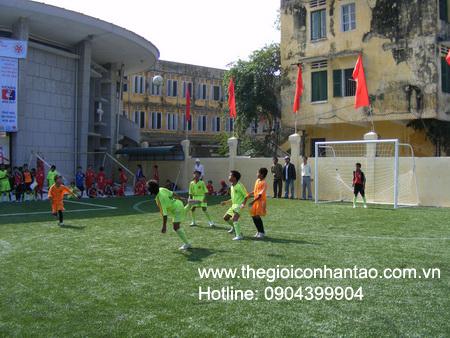 DVN Việt Nam tổ chức giải bóng đá 7 người trên sân cỏ nhân tạo. 5