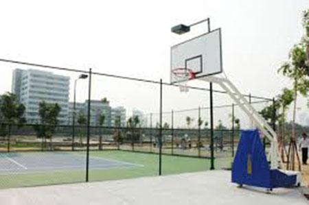 kích thước tiêu chuẩn sân bóng tennis
