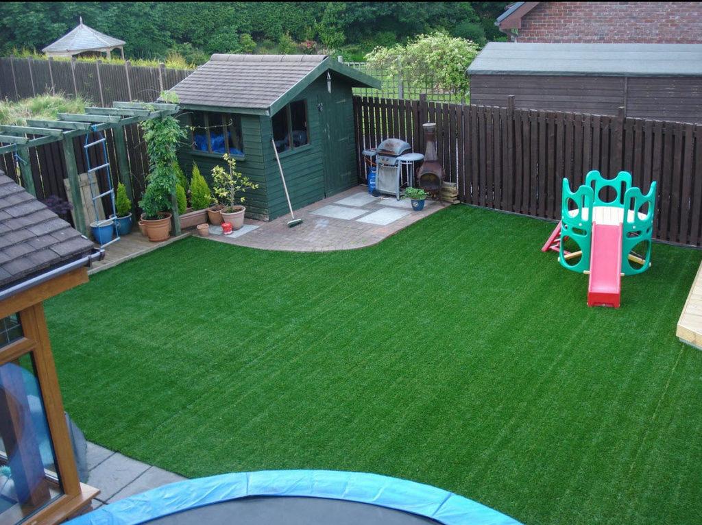 Sân cỏ nhân tạo thú chơi thời thượng của dân phui 2