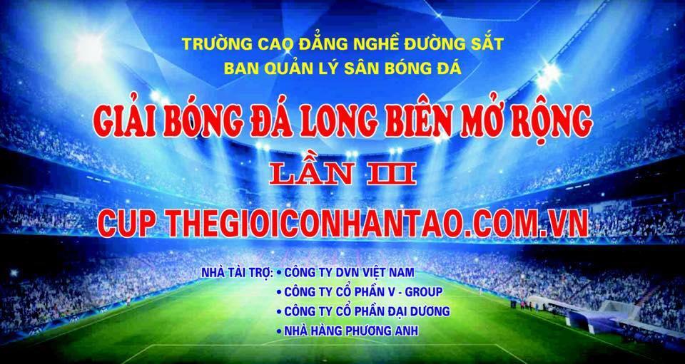 Cúp giải bóng đá Long Biên mở rộng lần 3