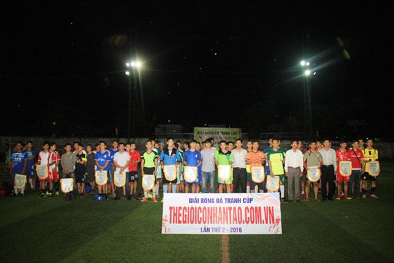 Giải bóng đá tranh cúp thegioiconhantao.com.vn tại Đồng Nai lần 2 – 2016 2