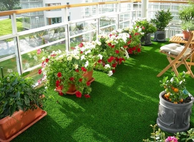 Ứng dụng của cỏ nhân tạo trong văn phòng công sở 2