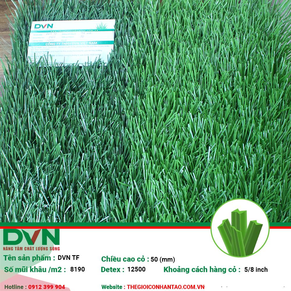 Sản phẩm cỏ nhân tạo sân bóng DVN TF 1