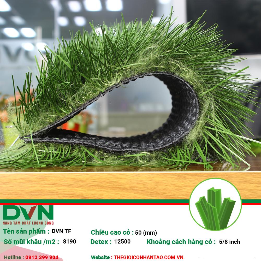 Sản phẩm cỏ nhân tạo sân bóng DVN TF 2