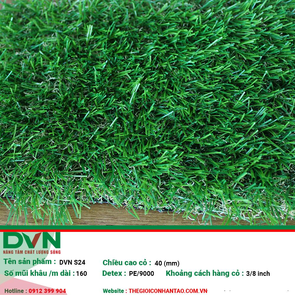 Cỏ nhân tạo sân vườn DVN S24 1