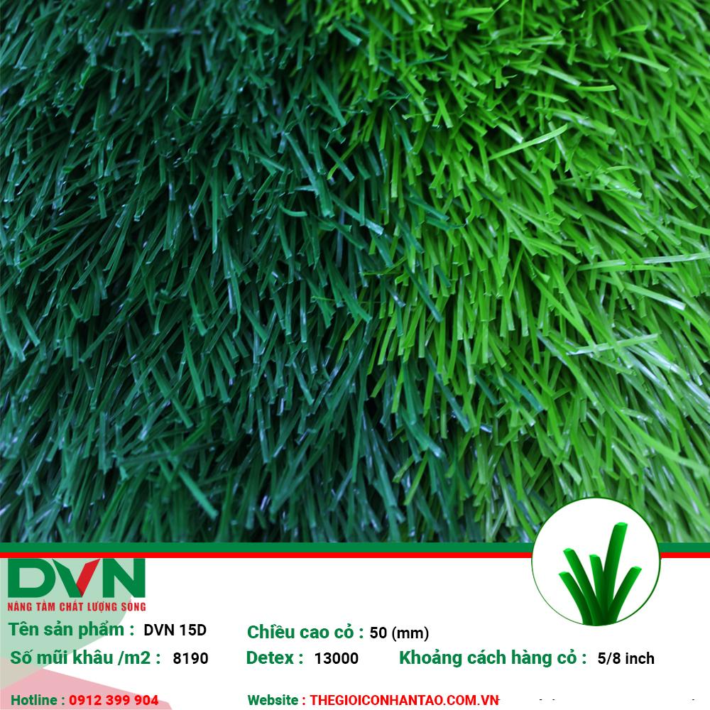 Sản phẩm cỏ nhân tạo sân bóng DVN 15D 1