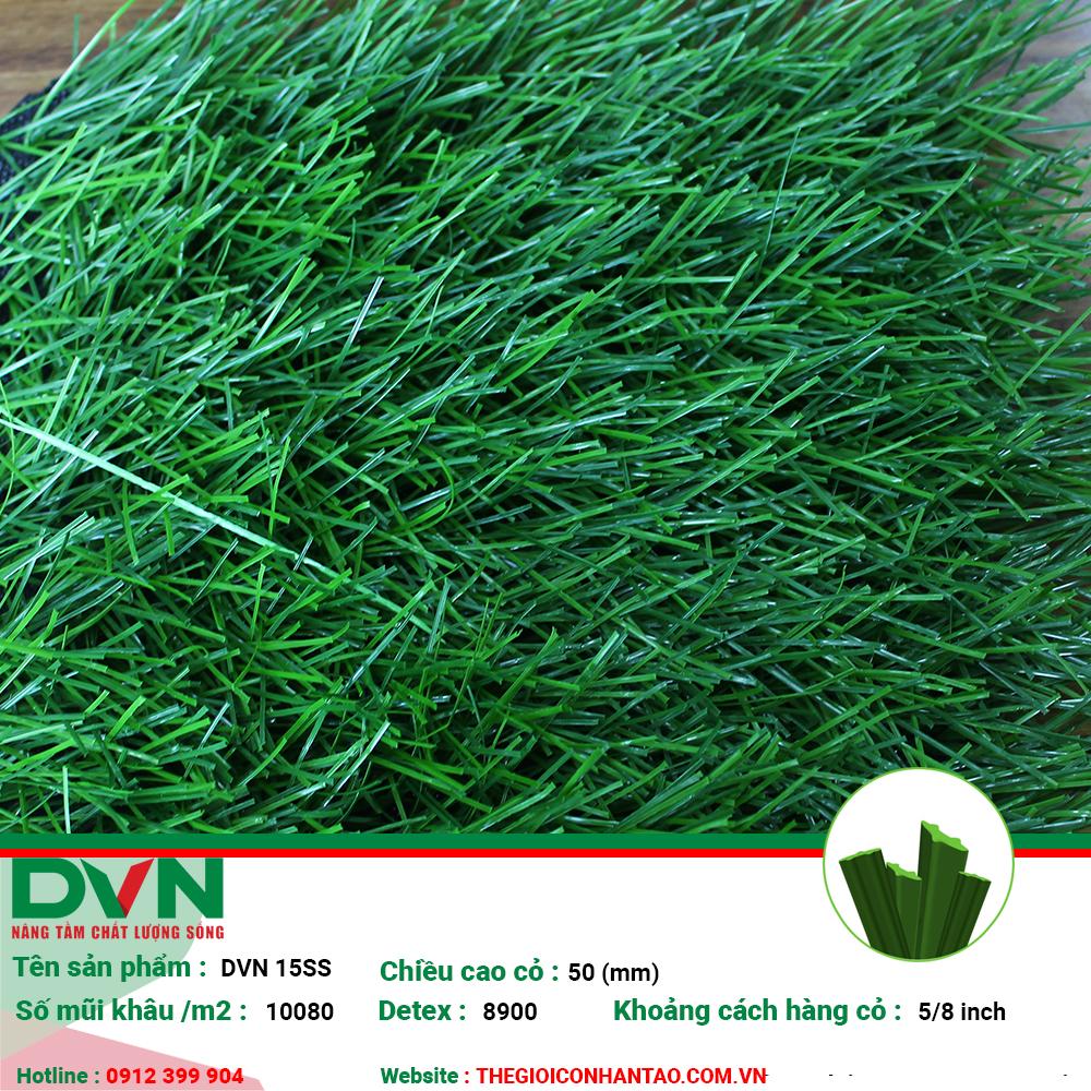 Sản phẩm cỏ nhân tạo sân bóng DVN 15SS 1