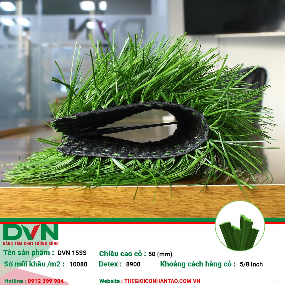 Sản phẩm cỏ nhân tạo sân bóng DVN 15SS 2