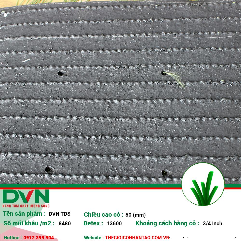 Sản phẩm cỏ nhân tạo sân bóng DVN TDS 2