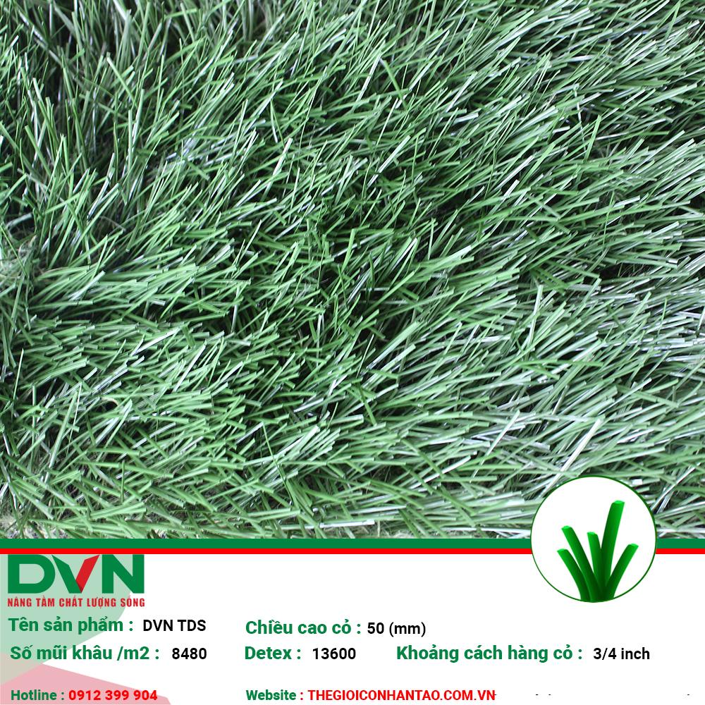 Sản phẩm cỏ nhân tạo sân bóng DVN TDS 1