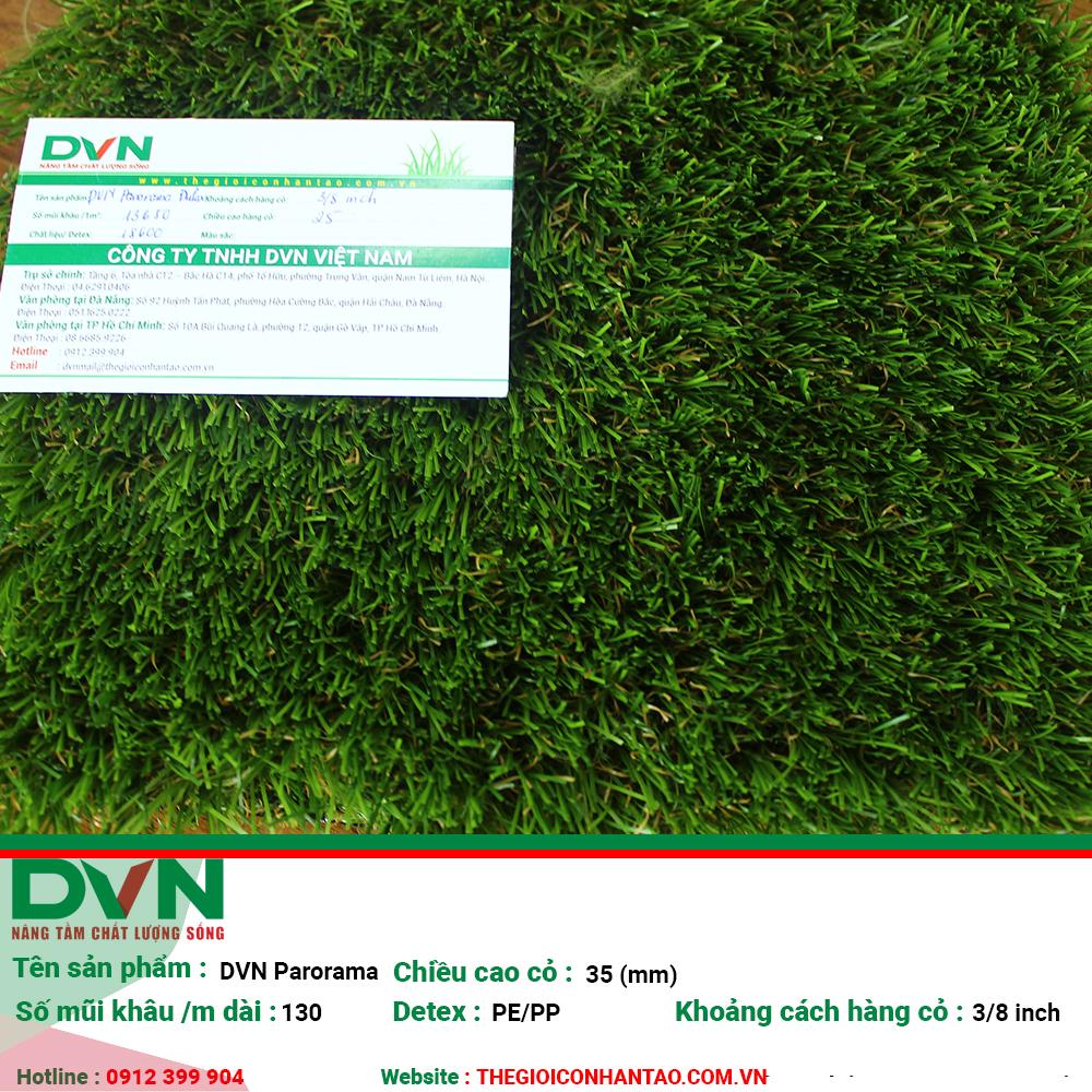 Cỏ nhân tạo sân vườn DVN S - Panorama 1