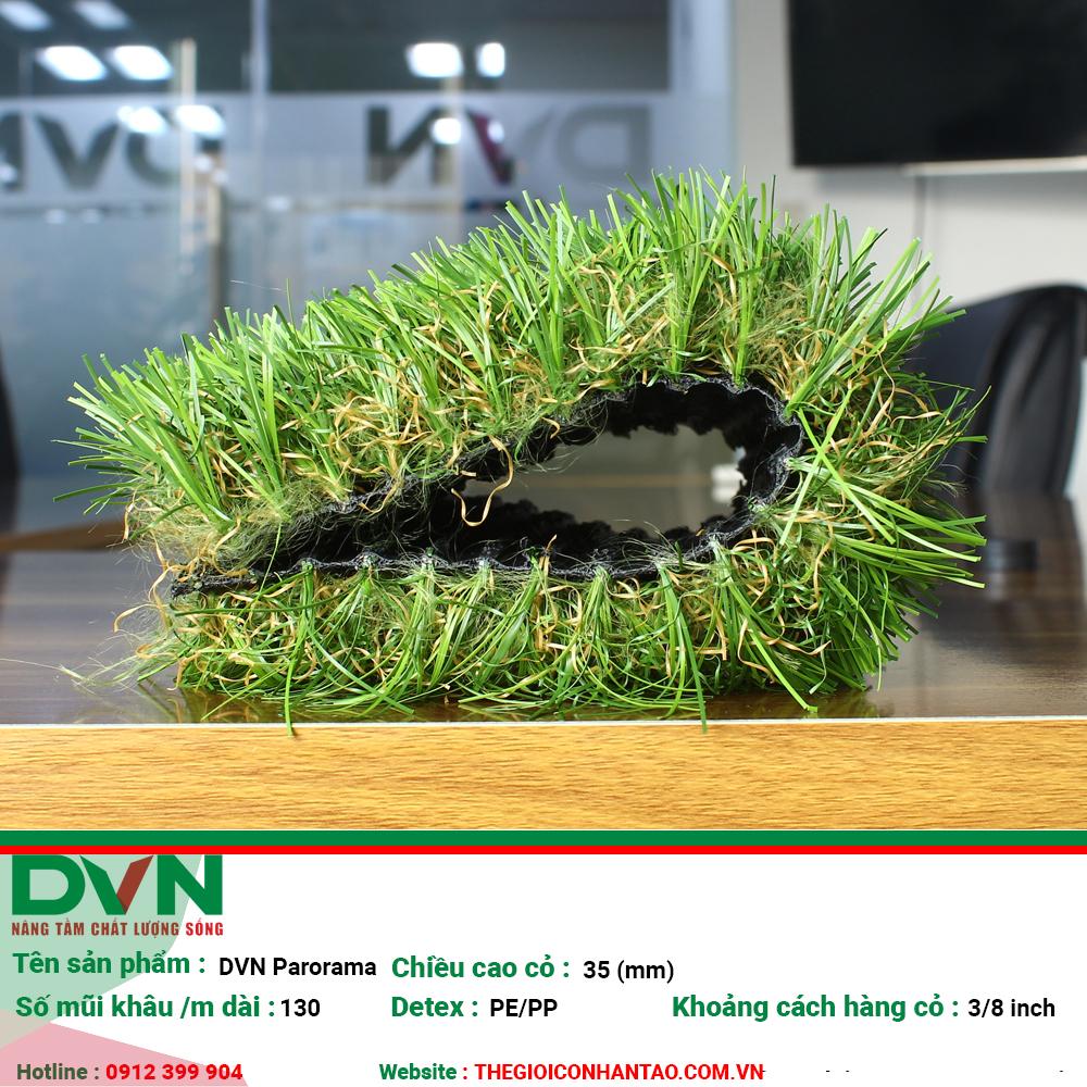 Cỏ nhân tạo sân vườn DVN S - Panorama 2