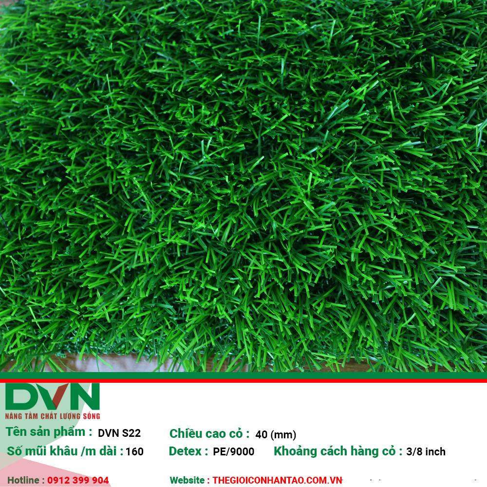 Cỏ nhân tạo sân vườn DVN S22 1