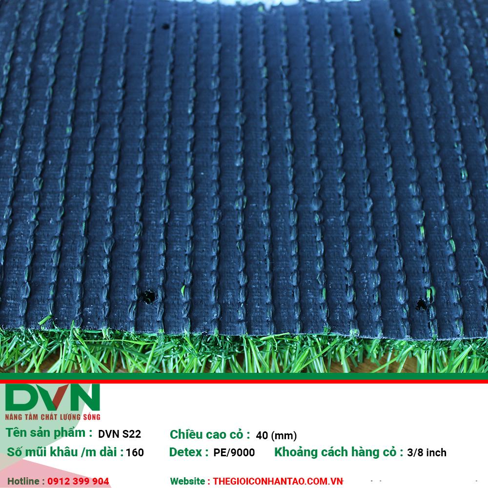 Cỏ nhân tạo sân vườn DVN S22 3