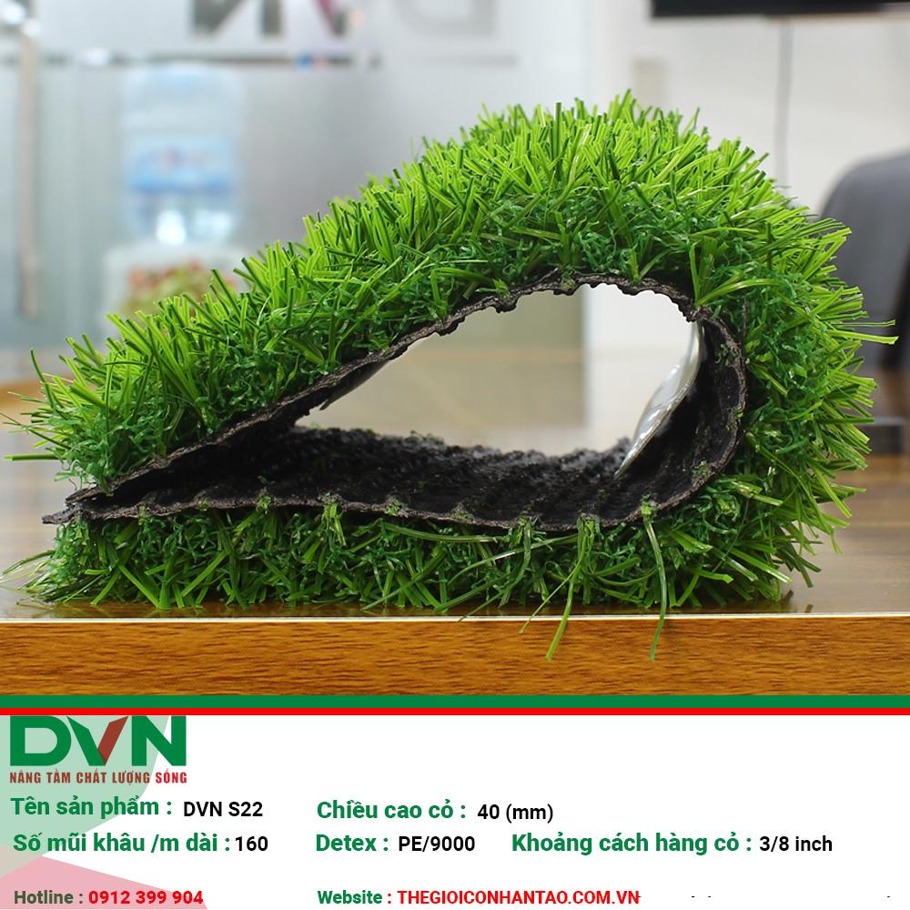 Cỏ nhân tạo sân vườn DVN S22 2