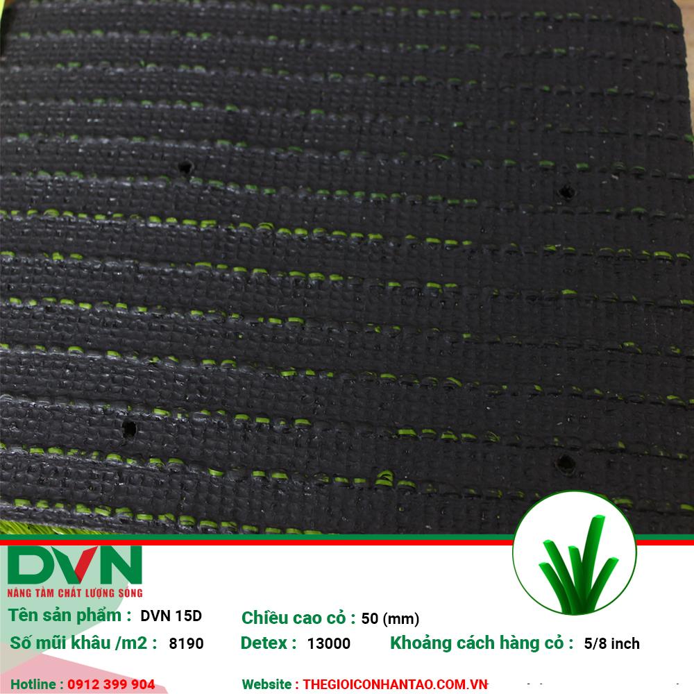Sản phẩm cỏ nhân tạo sân bóng DVN 15D 2