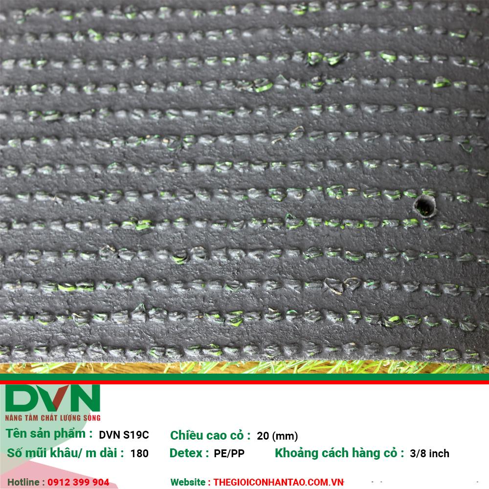 Cỏ nhân tạo sân vườn DVN S19C 2