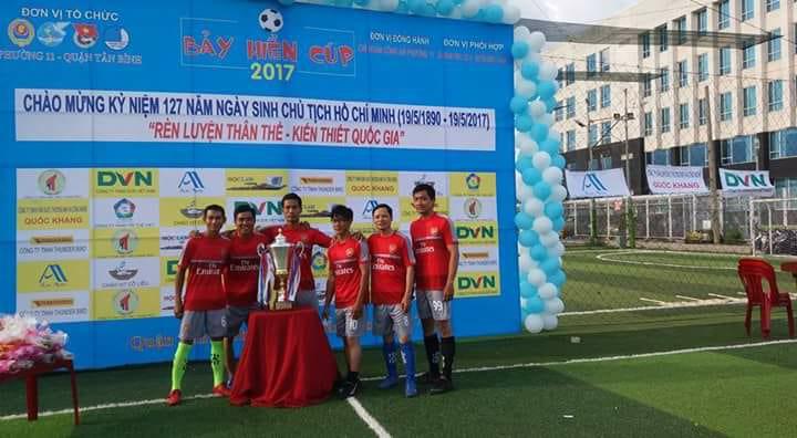 Công ty DVN - chi nhánh HCM tham dự giải đấu Bảy Hiền Cúp 2017 chào mừng ngày sinh nhật Bác 1